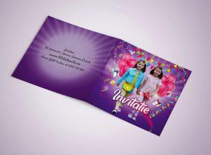 Invitatie personalizat petrecere